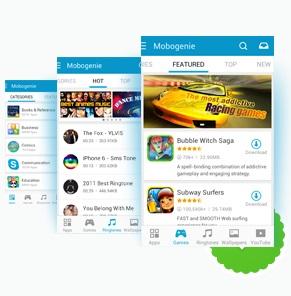 Mobogenie 2.6 для Android скачать на планшет Андроид