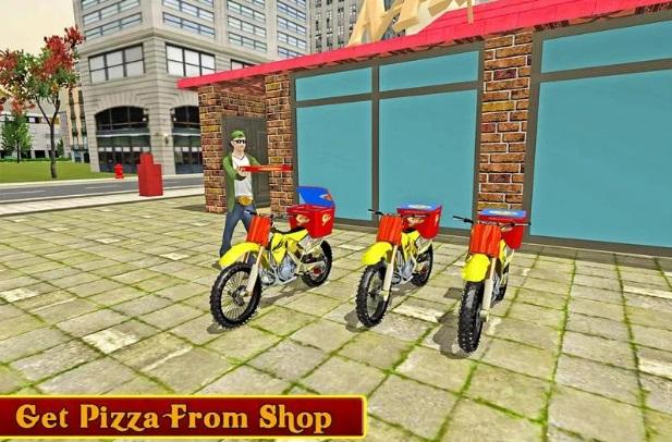 Мото: Доставка пиццы на ПК