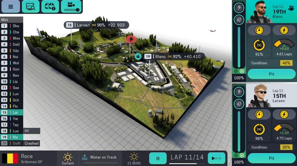 Motorsport Manager Mobile 3 на Андроид