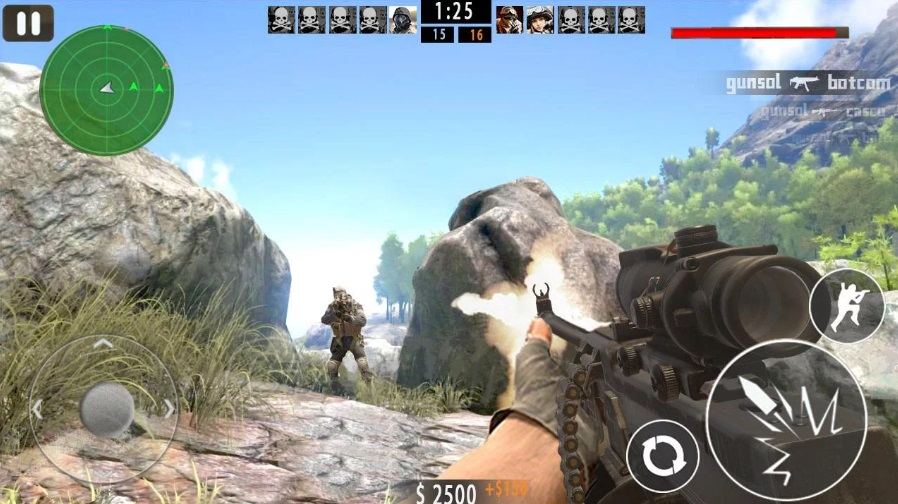 Mountain Sniper Shoot на Андроид