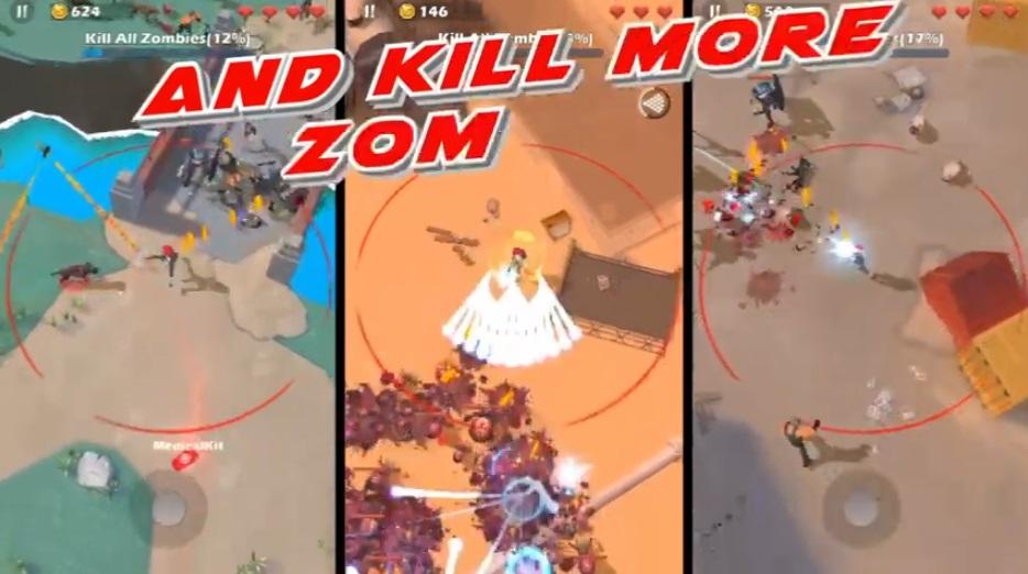 Mow Zombies на Андроид