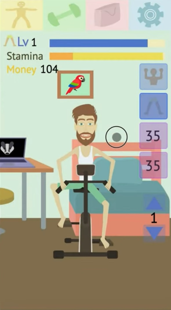 Muscle clicker 2 на Андроид
