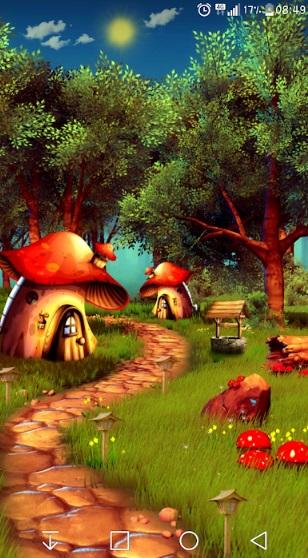 Mushroom Forest 3D Pro