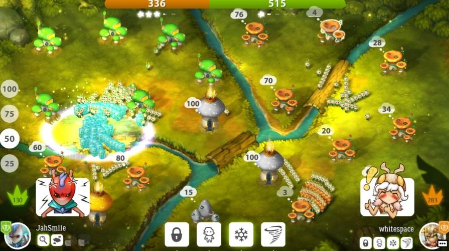 Mushroom Wars 2 на ПК