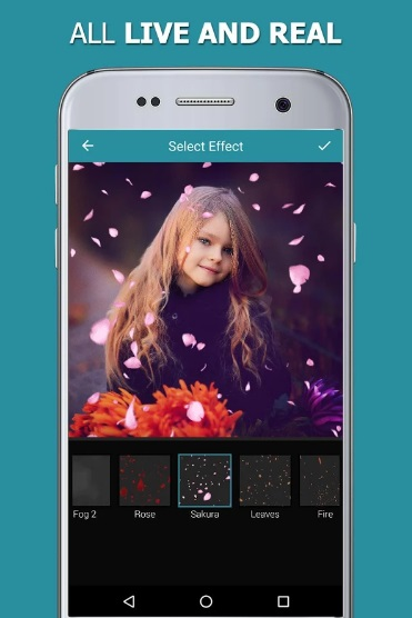 Nature Photo Effects Maker на Андроид