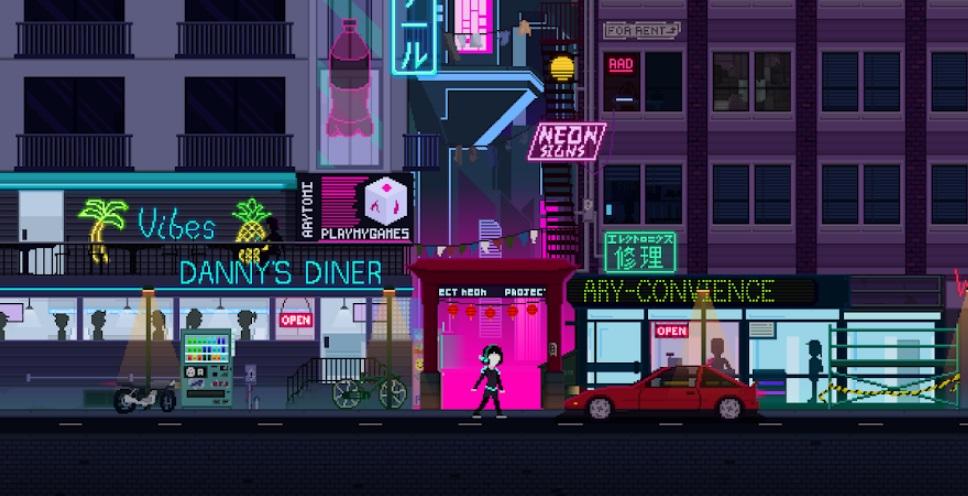 Neon Hook на Андроид