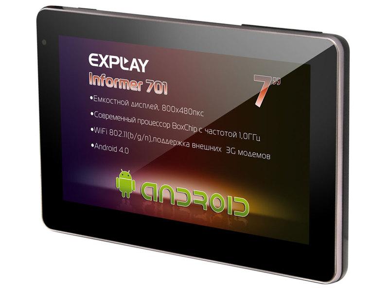 Explay Informer 701 — обзор планшета + видео