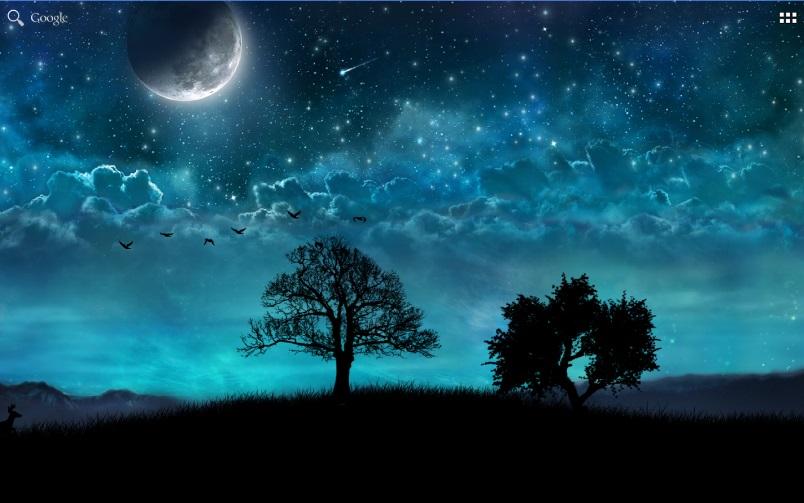 Dream Night - Free Live Wallpaper на Андроид