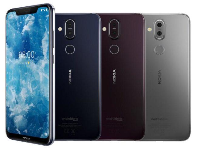 Nokia 8.1 цвета