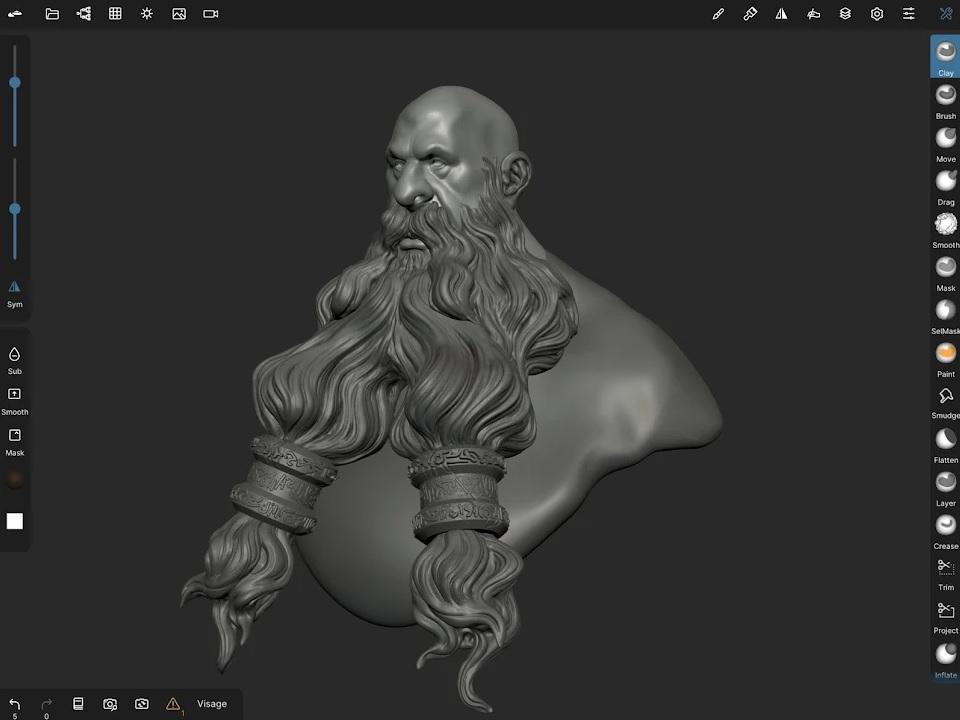 Nomad Sculpt на Андроид