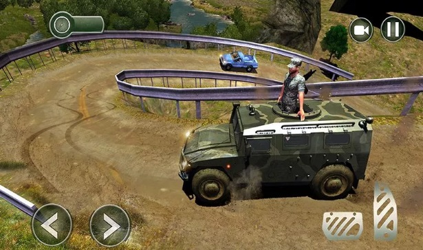 OffRoad US Army Transport Sim на Андроид