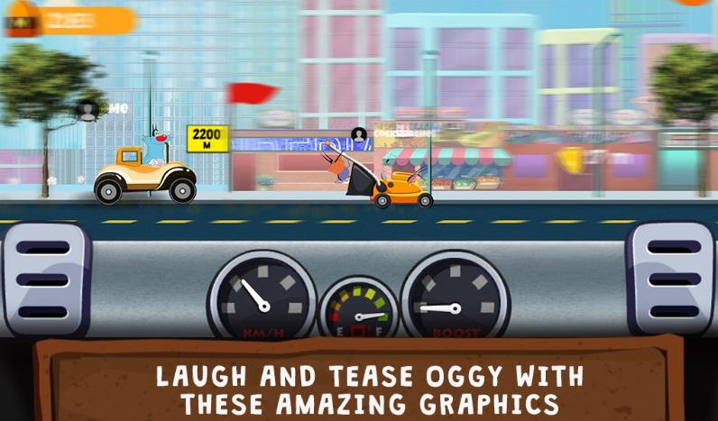 Oggy Go - World of Racing на Андроид