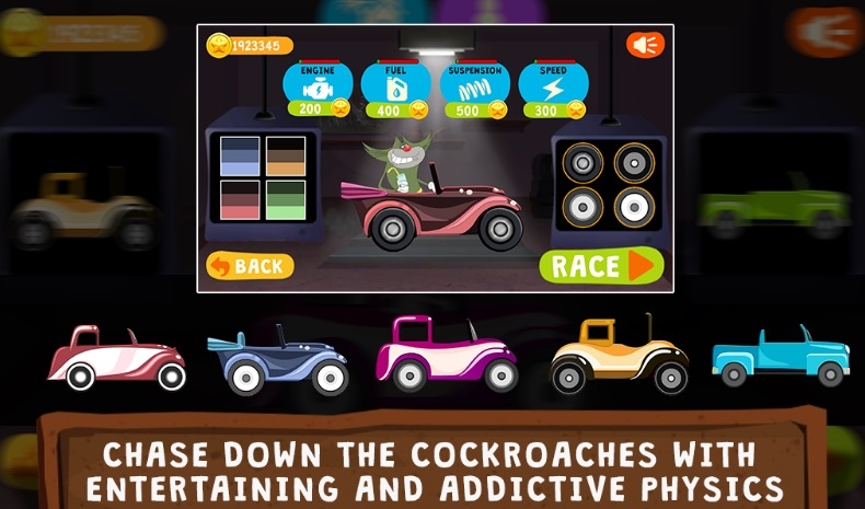 Oggy Go - World of Racing на ПК