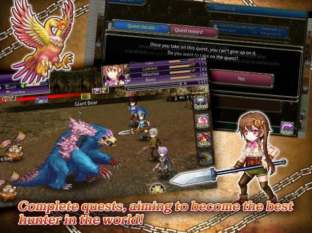 RPG Onigo Hunter на Андроид