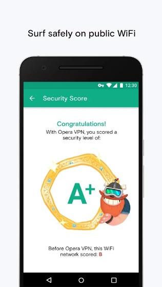 Opera VPN на ПК