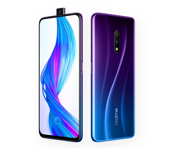 Oppo Realme X камера