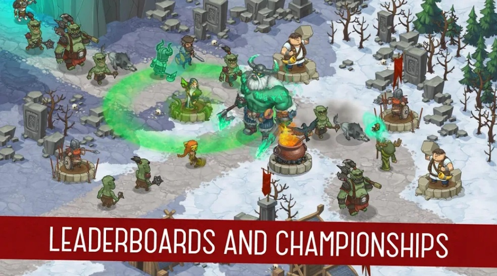Orcs Warriors: Offline Tower Defense на Андроид