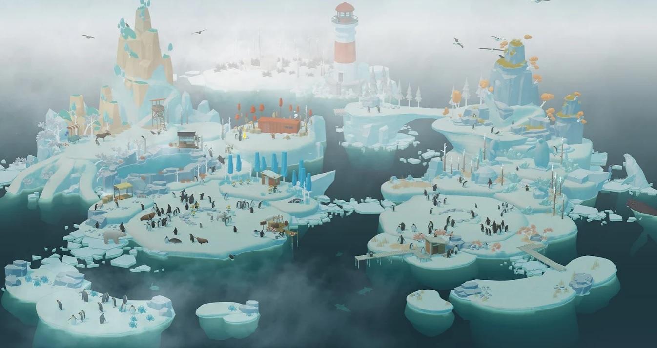 Остров пингвинов на Андроид