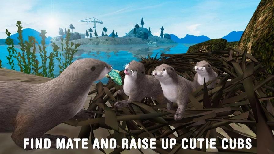 Sea Otter Survival Simulator на Андроид