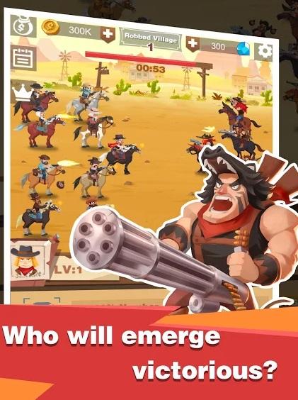 Outlaws: Wild West на Андроид