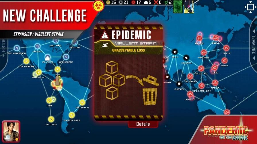 Pandemic: The Board Game на Андроид