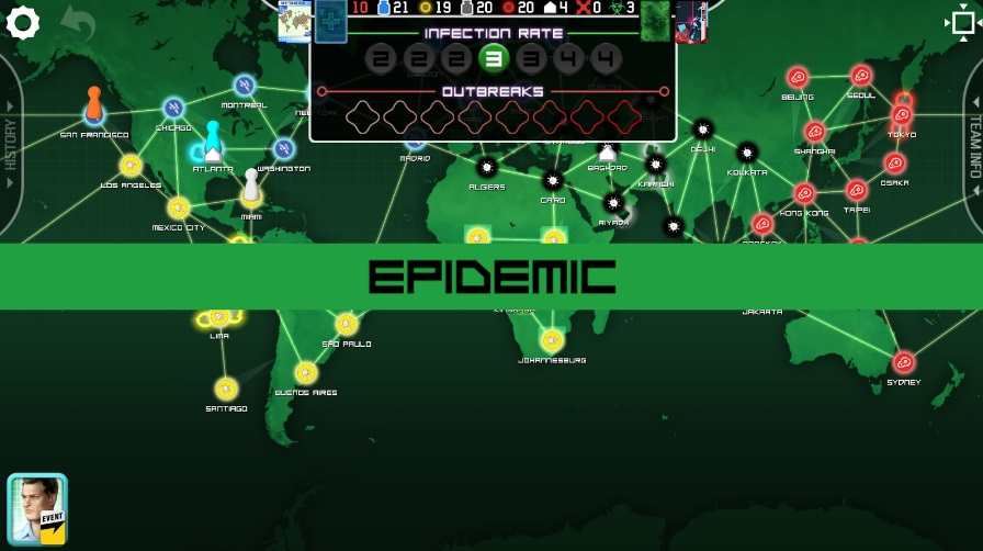 Pandemic: The Board Game на ПК