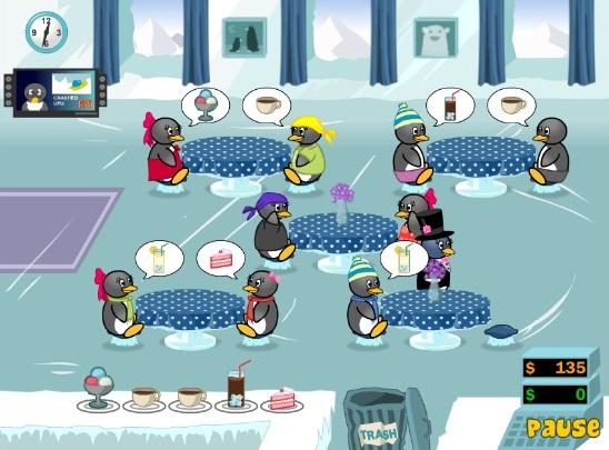 Penguin Diner 2 на Андроид