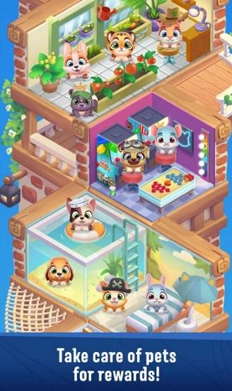 Pet Rescue Puzzle Saga на Андроид