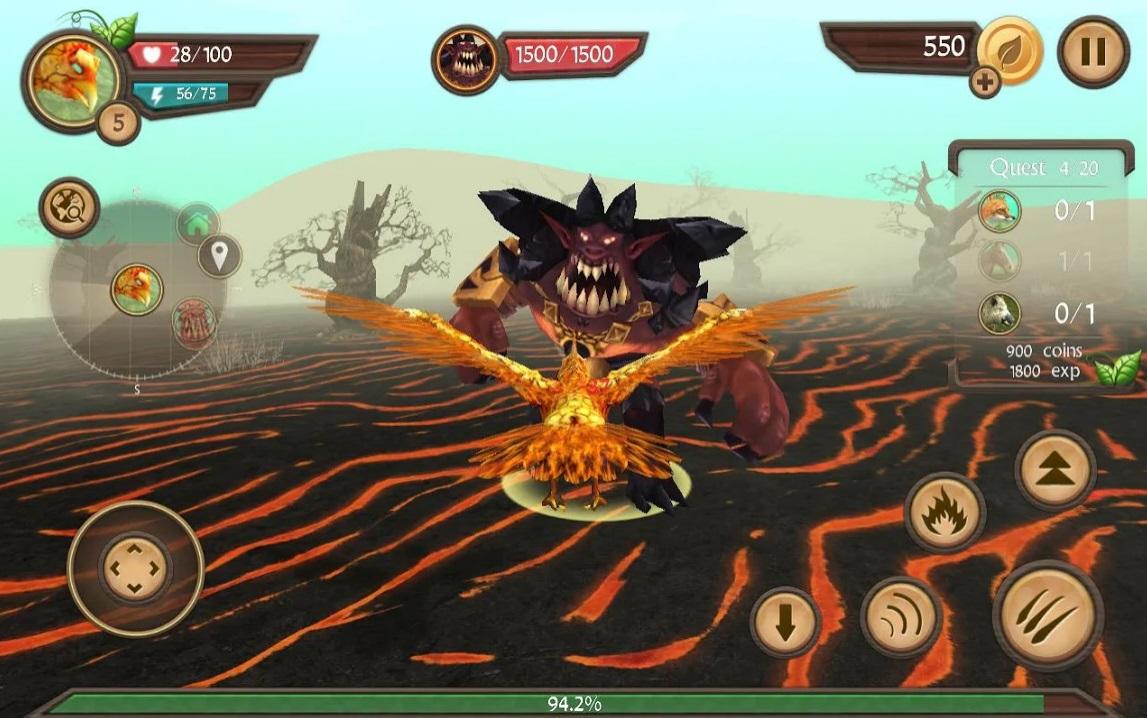 Phoenix Sim 3D на Андроид