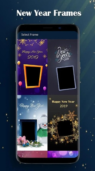 Happy New Year Photo Frames - Greetings 2019 на ПК