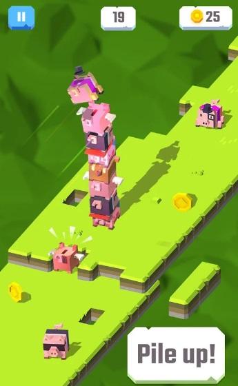 Piggy Pile на Андроид