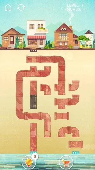 Pipe Puzzle на Андроид
