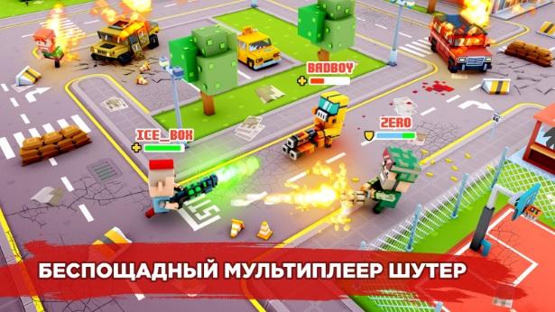 Pixel Strike Online на Андроид