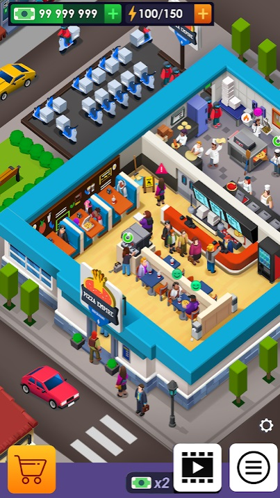 Pizza Empire Tycoon на Андроид