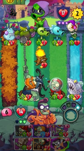 Plants vs. Zombies Heroes на Андроид