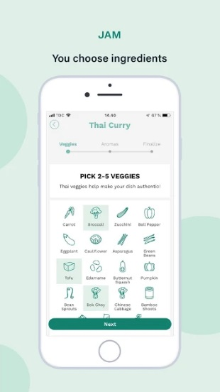 Plant Jammer: Create your own plant-based recipes на Андроид