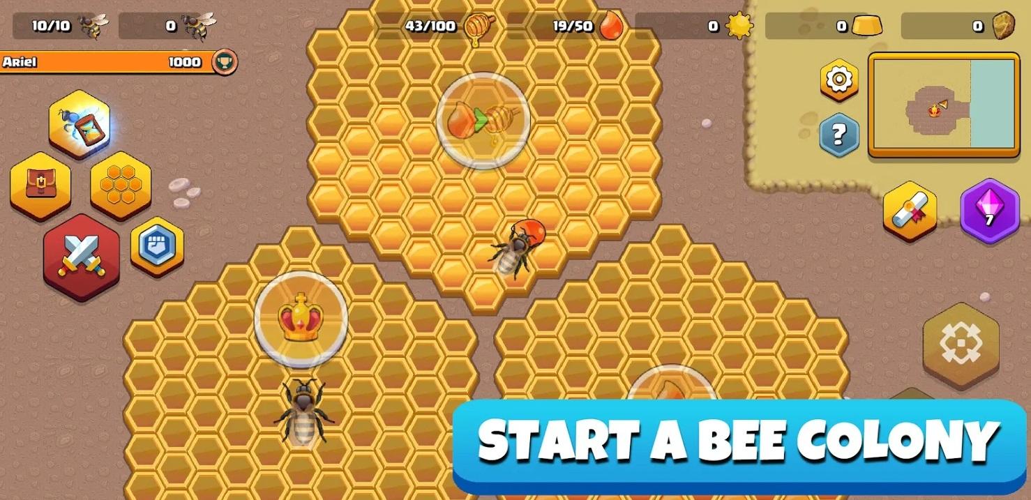 Pocket Bees: Colony Simulator на Андроид
