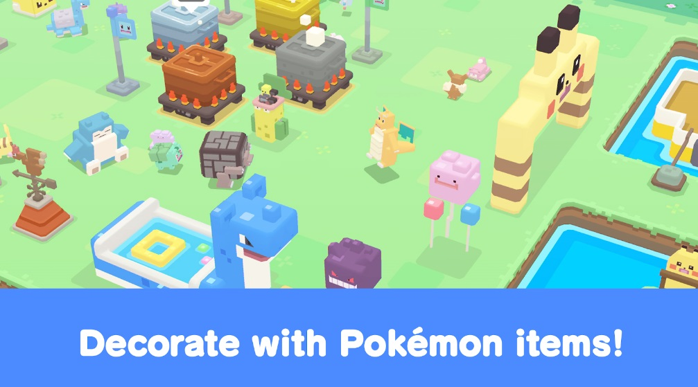 Pokémon Quest на Андроид