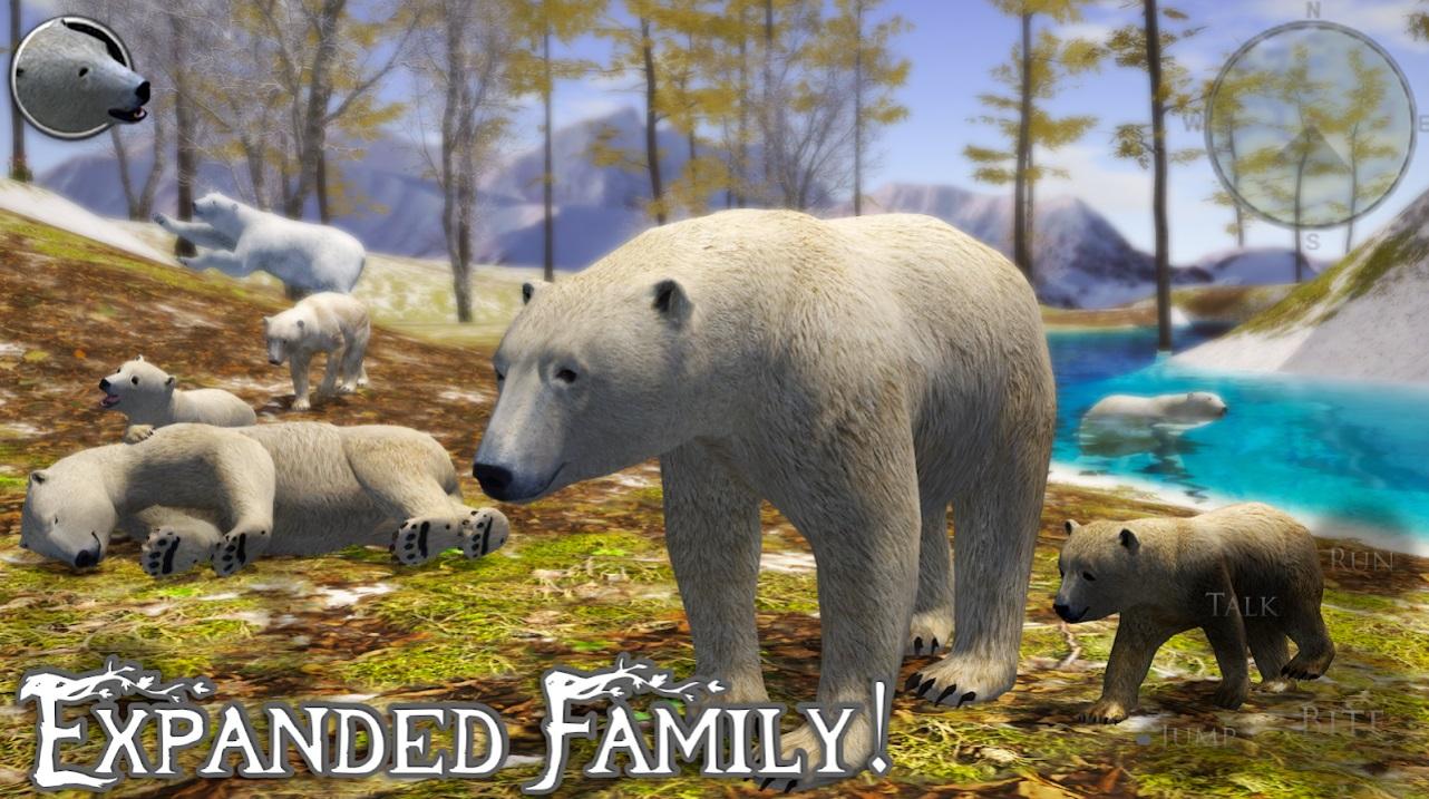 Polar Bear Simulator 2 на Андроид