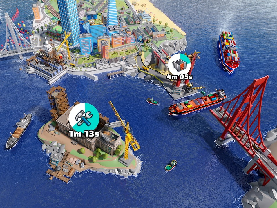 Port City: Ship Tycoon на Андроид
