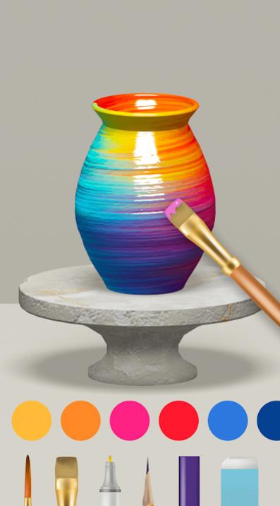 Pottery.ly 3D – Relaxing Ceramic Maker на Андроид