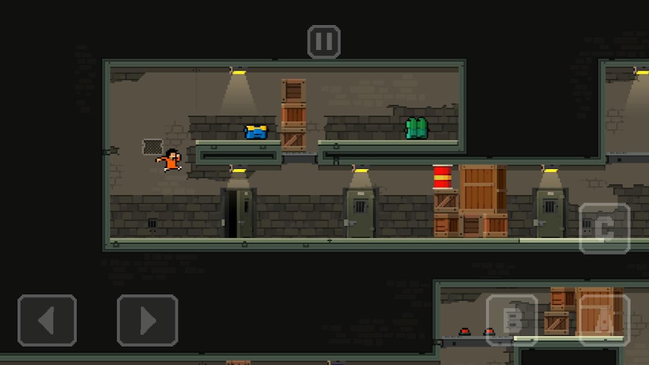 Prison Run and MiniGun на Андроид
