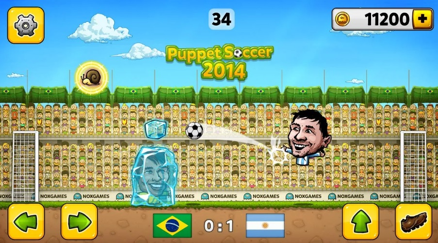 Puppet Soccer 2014 на Андроид