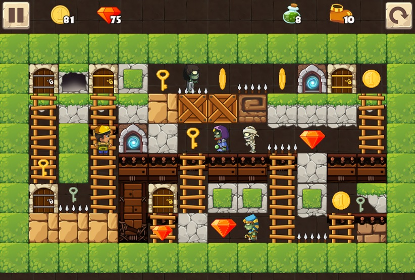 Puzzle Adventure: Underground Temple Quest на Андроид