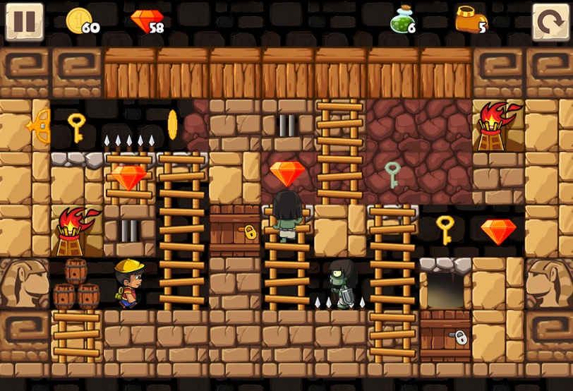 Puzzle Adventure: Underground Temple Quest на ПК