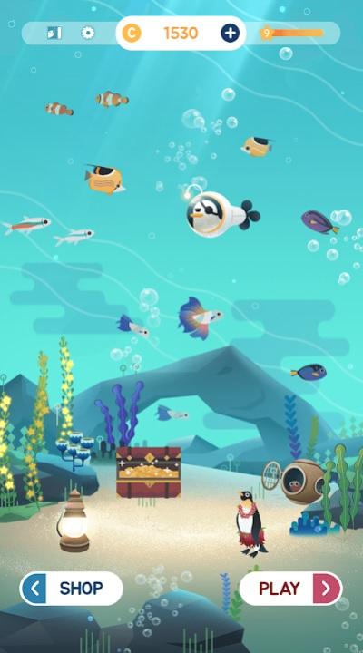 Puzzle Aquarium на Андроид