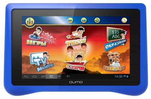 Вышел планшет для детей QUMO Kids Tab