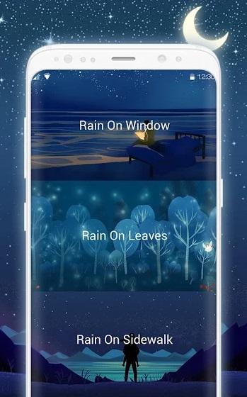 Rain Sounds: Sleeping & Relaxing Music на Андроид