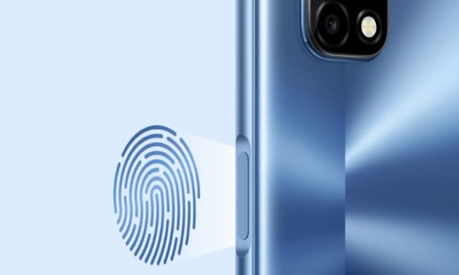 Realme 7 5G сканер отпечатков
