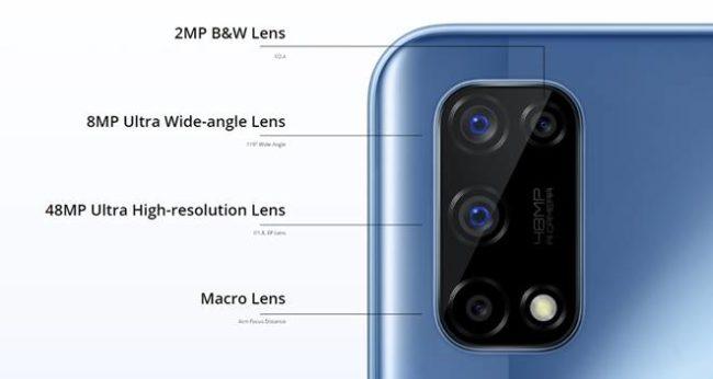 Realme 7 5G камера